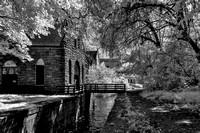 Old Pump House and Canal in IR