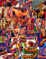 Hands of Kehinde Wiley