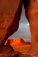 Frame of Monument Valley